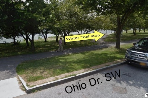 Ohio Drive SW boarding point